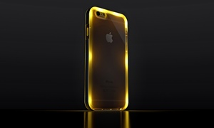 Mota Led Flashing Protective Case For Apple Iphone 6 Or 6 Plus
