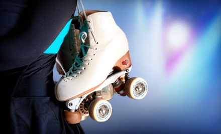 Roller Skating or Laser Tag for Two or Four with Pizza (Up to 65% Off)