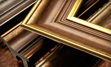 $49 for $100 Worth of Custom Framing at Image Gallery Frame Shop