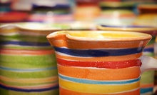 Two-Session Pottery Class for One or Two at Austin Handmade Arts Market (Up to 51% Off), Plus Complimentary Wine or Beer