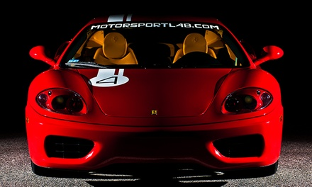 Ferrari or Lamborghini Speed-and-Shoot Experience from The Motorsport Lab on October 25 (80% Off)