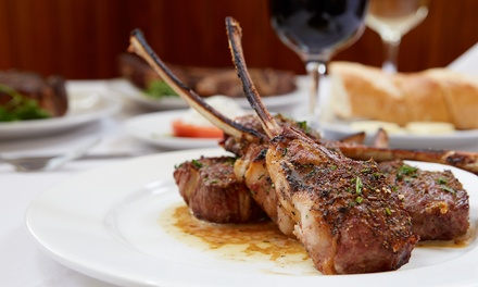 Mediterranean Cuisine and Drinks at 40sTF Mediterranean (Up to 43% Off). Three Options Available.