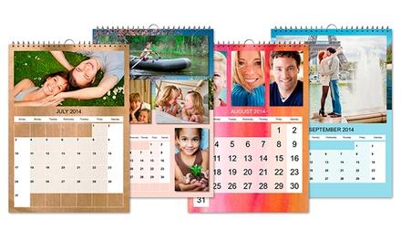 1, 2 ou 3 calendários de parede A3 personalizados desde 4,95€