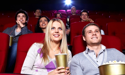 $16.99 for Two Movie Tickets and Two Large Popcorns at Moviemax Theatres (Up to $32.50 Value)
