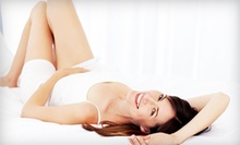 Three Laser Hair-Removal Treatments on a Small, Medium or Large Area at About Face (Up to 79% Off)