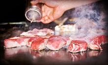 $20 for $40 Worth of Japanese Hibachi Cuisine at Samurai Japanese Steak &amp; Sushi Bar