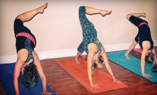 10 or 20 Classes at Heart and Soul Yoga Studio (Up to 82% Off)