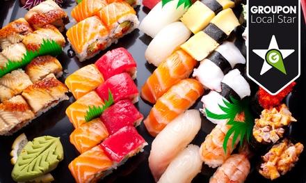 Rock n Sushi — Alcântara: all you can eat de sushi e sashimi para duas pessoas por 36,90€ em vez de 77€