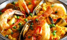 $25 for $50 Worth of Spanish Cuisine, Tapas, and Drinks for Dinner at Vizcaya Restaurante and Tapas Bar