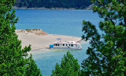 groupon daily deal - 3- or 4-Night Houseboat Rental for Up to 18 from Sunshine Houseboat Vacations in British Columbia