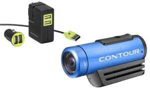 Contour ROAM2 Waterproof Action HD Camcorder Bundle