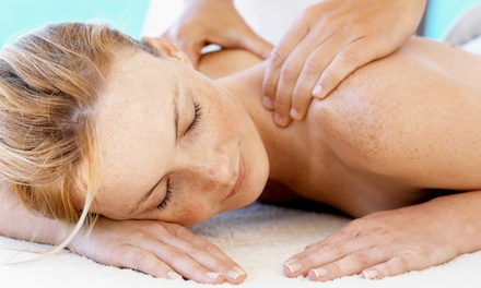 $53 for a Full-Body Massage with Hot/Cold-Stone Facial at Natures Remedy LLC ($120 Value)