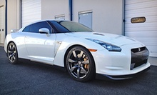 Half-Day Drive in a Shelby Mustang GT, Porsche Boxster, C6 Corvette, or Nissan GT-R at Mile High Drives (Up to 54% Off)