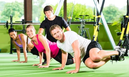 One Month of Group, Semi-Private, or One-on-One Personal-Training Sessions at Pure Form PFT (Up to 61% Off)