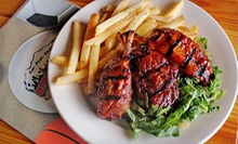 Barbecue and Pub Cuisine at Sideliners Grill (Half Off). Three Options Available.