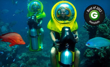Submersible-Eco-Scooter and Turtle-Watching Adventure from Island Watersports Hawaii (Up to 53% Off)