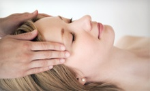 Facial with Neck and Shoulder Massage with Optional Gel Manicure and Classic Pedicure at Lamour Nails (Up to 53% Off)