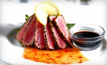 Steaks, Seafood, and Salads for Dinner at FoxFire (Half Off). Three Options Available.