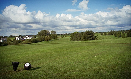 18-Hole Round of Golf with Cart and Range Balls for One, Two, or Four at River Valley Golf Course (Up to Half Off)