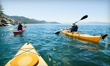 Standup-Paddleboard Class or Two-Hour Rental of a Single or Tandem Kayak at Adventure Water Sports, LLC (Up to 58% Off)
