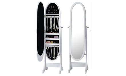 Espelho guarda-joias disponível em diferentes formatos e cores desde 79,90€
