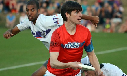 $8 for One Ticket to a Raleigh Flyers Ultimate Disc Game at Cardinal Gibbons High School ($13.99 Value)