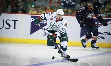 Iowa Wild Hockey Game at Wells Fargo Arena on April 3 or 9 (Up to 48% Off). Two Seating Options Available.