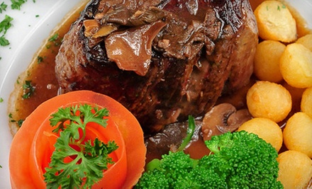 Argentine Steak-House Cuisine for Dinner or Lunch at Puerto La Boca (Half Off)