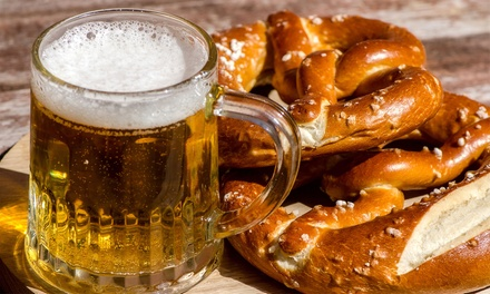 German Food and Drinks at The KBH(Up to 50% Off). Two Options Available.