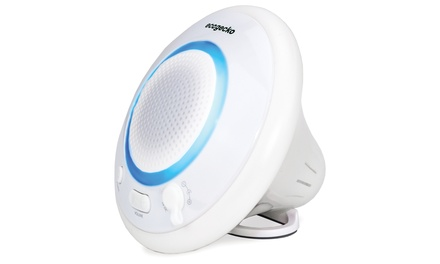 ecogecko AquaFloat Bluetooth Wireless Floating Speaker with Color-Changing LED Light