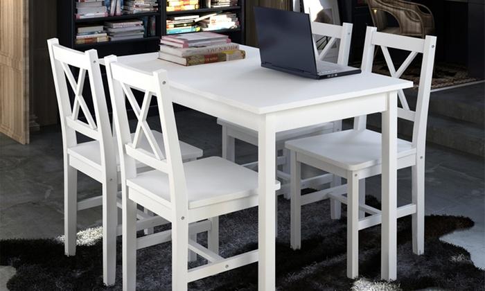 vida xl be dco deal van de dag groupon. Black Bedroom Furniture Sets. Home Design Ideas