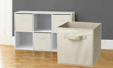 6-Pack of Collapsible Storage Cubes