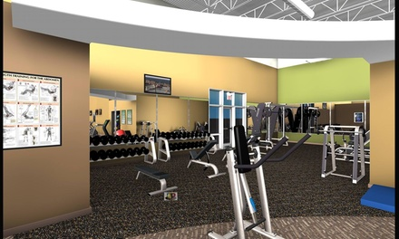 $130 for $260 Groupon — Anytime Fitness, Bashford Manor Next to Target