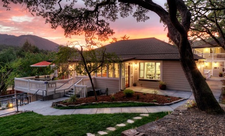 groupon daily deal - 1-Night Stay for Two with a Bottle of Champagne at Olea Hotel in Sonoma Valley, CA