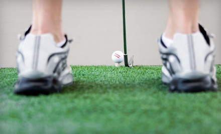 One or Three 60-Minute Private Golf Lessons with Swing Analysis and Digital Recording at GolfSmarts (Up to 62% Off)