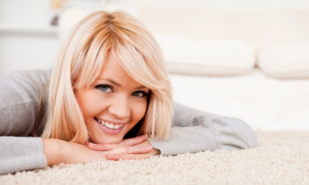 $69 for Carpet Cleaning for Three Rooms and One Hallway from Magic Carpet ($210 Value)