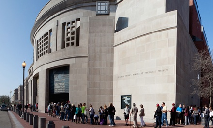 Membership Packages with Two or Four Priority Passes to the United States Holocaust Memorial Museum
