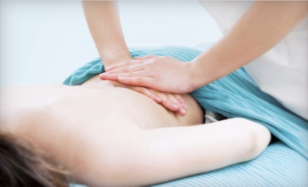 $35 for a Chiropractic Exam with Massage, X-rays, and Adjustment at Schwenn Family Chiropractic in Marion ($375 Value)