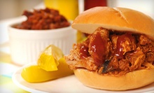 $10 for $20 Worth of Barbecue and Housemade Sides at Tom's Blue Moon BBQ