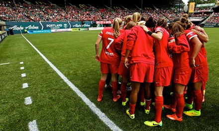 $14 for a Portland Thorns FC Women's Soccer Game for Two at Providence Park on Sunday, August 3, at 7 p.m. ($26 Value)