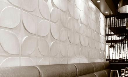 Dá uma dimensão extra às paredes: Painel decorativo 3D para a parede por 49€