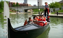$125 for a One-Hour Gondola Ride for Up to Eight from Old World Gondoliers ($300 Value)