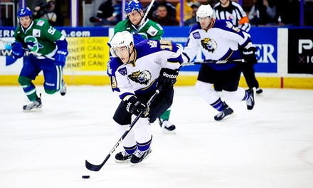 Manchester Monarchs Hockey Game at Verizon Wireless Arena on October 24 or 25 (Up to 46% Off)