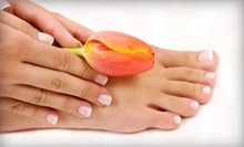 One, Two, or Three Lounger Mani-Pedis at SOAK Nail and Body Lounge (Up to 64% Off)