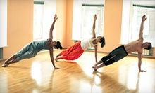 10, 20, or Three Months of Unlimited Yoga Classes at Cosmic Dog Yoga (Up to 80% Off)