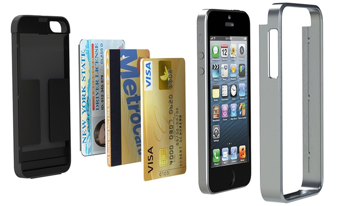 iHome Vault Credit Card Case for iPhone 55S.