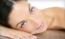 Anti-Aging Microcurrent Facial with Optional Exfoliating Facial or a Medical-Grade Peel at Skin Bliss (Up to 65% Off)
