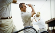 $10 for Two Extra-Large Buckets of Balls at Airport Driving Range ($20 Value)