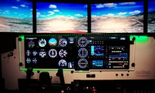 60-Minute Flight-Simulator Piloting Experience for One or Two at U.S. Aviators (63% Off)