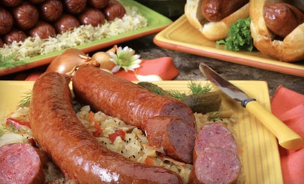 $20 for $40 Worth of Sausages and Deli Fare at Crawford Sausage Co.